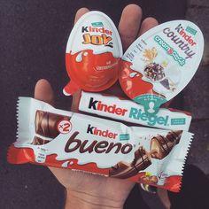 Image via We Heart It #german #kinder #sweets #kinderjoy #chocolate.food #kiiwyyo