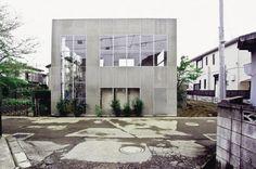 Maison pour un couple, Tokyo, Japon – Façade à rue © Junya.ishigami+associates