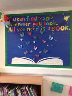 Book Corner Ideas Preschool, Preschool Reading Corner, Preschool Books, Primary Classroom Displays, Preschool Classroom Decor, Classroom Themes, Reading Corner School, Book Corner Classroom, Book Corner Display