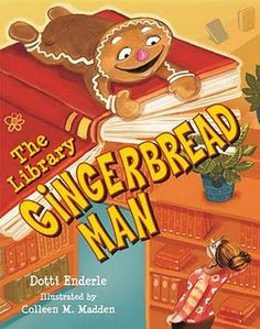 Literary characters are in hot pursuit of the Library Gingerbread Man! The exasperating Gingerbread Man, famous for leading a host of townsfolk and animals in a wild chase about the countryside, lives at on the library shelves. But the Gingerbread Library Skills, Library Lessons, Library Ideas, Gingerbread Man Activities, Gingerbread Men, Gingerbread Stories, Book Care, Elementary Library, Children's Literature