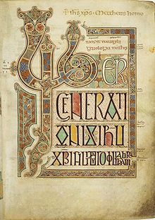Book of Kells - Wikipedia