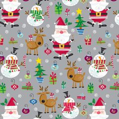 In Style Santa Gift Wrap