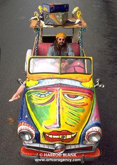 Art Car Agency Predominantly Painted