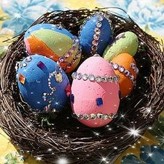 Russian Faberge Eggs - everything is better with bling!