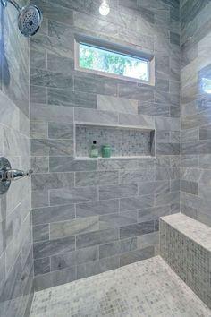 Master Bathroom Walk In Shower Design Ideas Budget Bathroom Remodel, Shower Remodel, Bathroom Renovations, Bathroom Makeovers, Restroom Remodel, Tub Remodel, Home Design, Modern Design, Design Ideas