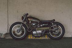 Cafe Racer Pasión — Yamaha XS650 Brat Style by Soyouz Cycles - Photos...