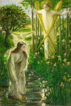Dante Gabriele Rossetti - Annunciazione