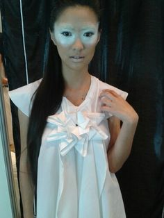 Origami dress - Asunción Fashion Week S/S 2014-2015 - Backstage - Mandala dress