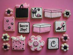 Shopping Cookies by Brenda's Cakes - Ohio, via Flickr
