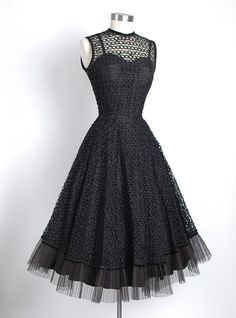 vintage LBD, $268