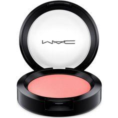 Mac Flamingo Park Powder Blush (€20) ❤ liked on Polyvore featuring beauty products, makeup, cheek makeup, blush, spring flock, mac cosmetics and powder blush
