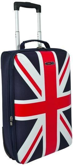 Loving this Antler Union Jack suitcase