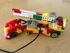 Monster truck crane