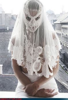 Dr Lecter mask in lace