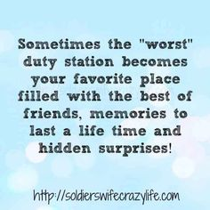 13 Memes About Military Spouse Friendship ~ Soldier's Wife, Crazy Life Military Spouse Quotes, Deployment Quotes, Military Wife, Army Mom, Friends For Life Quotes, Best Friend Quotes, Finding New Friends, Find Friends, Soldier Quotes