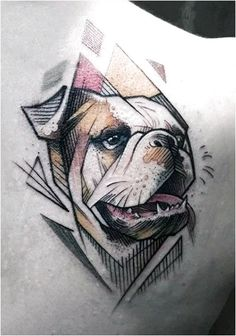 100 Dog Tattoos For Men - Creative Canine Ink Design Ideas - 100 Dog Tattoos For Men – Creative Canine Ink Design Ideas Cool Astract French Bulldog Mens Back Tattoo Tattoo Bulldog, Pitbull Tattoo, French Bulldog Tattoo, Bad Tattoos, Cute Tattoos, Body Art Tattoos, Sleeve Tattoos, Bulldogge Tattoo, Back Tattoos For Guys
