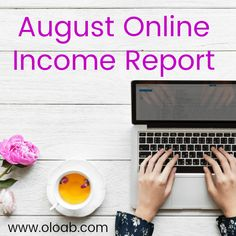 Earning online income from home can be easy and fun. This is a detailed report of what I made online in the month of August and how I made it. Make Money From Home, Way To Make Money, Cool Things To Make, Sensory Details, How To Start A Blog, How To Make, Online Income, Be Your Own Boss, Free Blog
