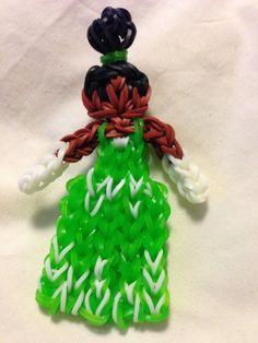 Rainbow Loom Tiana (TutorialsByA) http://www.youtube.com/watch?v=QCMNRvU1MqY&feature=share&list=PLI7aiku0BlvUS3_cQdfVZlLejoqk5R-1d&index=9
