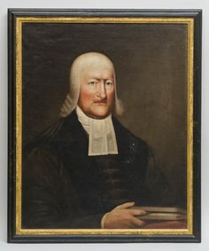 PORTRAIT OF DR. JOHN HENRY LIVINGSTON (1746-1825)New York or New Jersey, c. 1810.A very fine portrait of John Henry Livingston, the leader of the Dutch Reformed Church in America, and President Pro Tempore of Queen's College (later Rutgers)