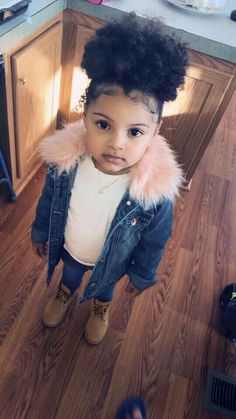 New Fashion Kids Baby Swag Ideas Cute Mixed Babies, Cute Black Babies, Beautiful Black Babies, Cute Baby Girl, Beautiful Children, Cute Babies, Baby Swag Girl, Baby Baby, Cute Kids Fashion