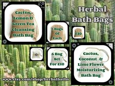 Bath and Beauty, 6 Herbal Bath Bags, Bath Bag, Bath Set, Home Spa, Relaxation, Herbal Gift by HerbalBaths on Etsy