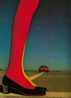 Herbert Levine  Bill Silano for Harper's Bazaar, 1967  from PHOTO Album Collection, 1973