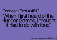 Hunger Games funny quote