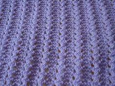 Fabiana Fante: Manta em tricot no ponto tartaruguinha