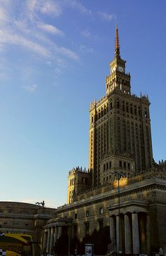https://flic.kr/p/Hw8E5M | 20150514_192510 | #Palace of Culture and Science in #Warsaw, Poland