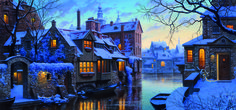 Venice Of The North Puzzle  #jigsaw #puzzle #christmas #xmas #gifts #children #grandparents #hobby #fun #family #gibsons