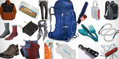 What to bring backpacking in Europe... There is a male and female version which is perfect!