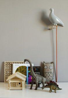 Pigeon Light by Ed Carpenter - Grey