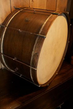 vintage drum - ludwig pioneer bass drum  http://www.vintageandrare.com/category/Drums-Percussion-216