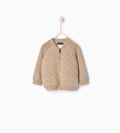Knit cardigan from Zara