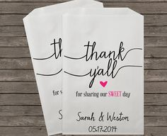Wedding Favor Bags Candy Buffet Bags Candy Bar by StampsJubilee, $15.00