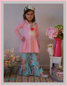 Plush Bunny Easter Dress ... Toddler up to Girl size 8 ... NEW #2014 #Easter #Day #Clothes #decor #craft #ideas www.loveitsomuch.com