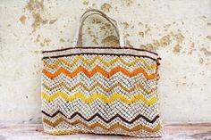 Macrame Bag - Orange