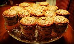 Mini carrots cakes amb panses i nous