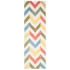 Safavieh Brindley Chevron Textured Wool Rug : Target
