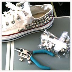 DIY Stud your Converse