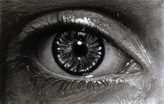 Hyperrealistic Pencil Drawings Look Deeply Into Soulful Eyes - Martin Lynch-Smith