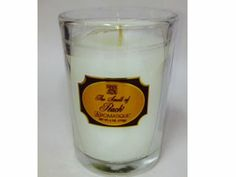 Smell of Peach Glass Candle by Aromatique