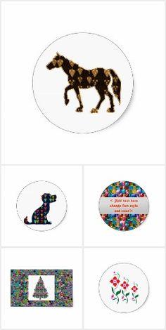 2 500 Stickers Decorative