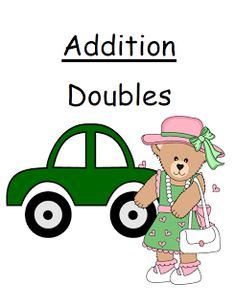 Classroom Freebies: Fern Smiths Free Addition Doubles Center Game!