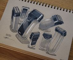 Product Design Illustrations on Behance