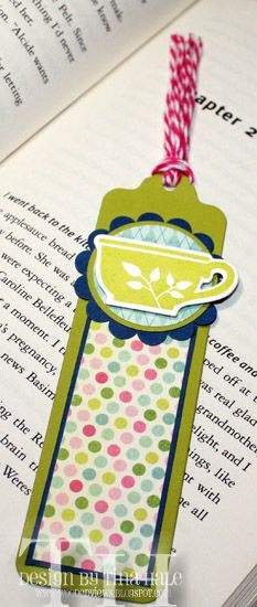 A bookmark for me by tinahale38 - Cards and Paper Crafts at Splitcoaststampers