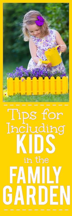 Gardening isn't just for grown ups. Get the kids involved in planting, growing, and harvesting with these 9 Tips for Including Kids in the Family Garden. Summer Activities For Kids, Summer Kids, Kid Activities, Flower Power, Diy Garden Projects, Garden Ideas, Garden Crafts, Family Garden, Garden Show