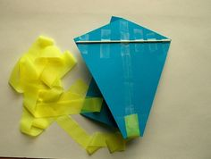 Easy Paper Kite for Kids