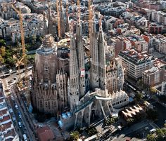 Sagrada Familia - Antoni Gaudi (Barcelona)