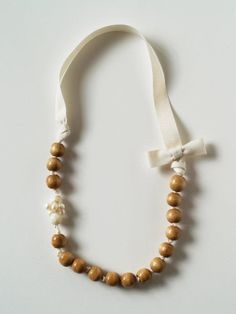 DIY Anthropologie necklace